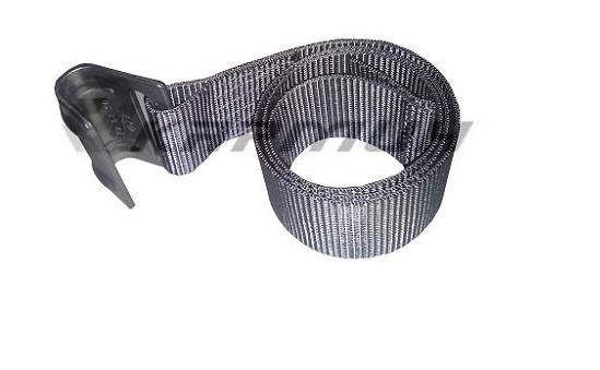 Лента ремня натяжения тента с крюком (нерж)/ MEGA