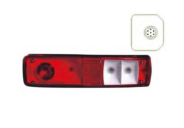 Фонарь задний многосекционный RVI Premium 06->(R)
