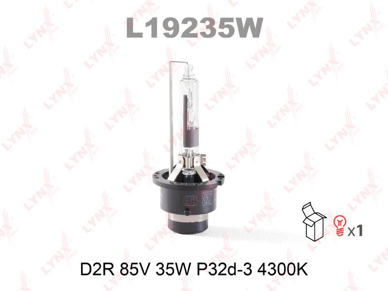Лампа газоразрядная D2R 12V 35W P32d-3/LYNXAUTO