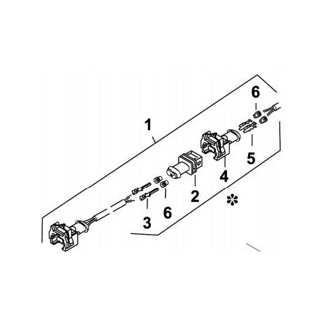 Жгут проводов удлиняющий к насосу – дозатору 7м