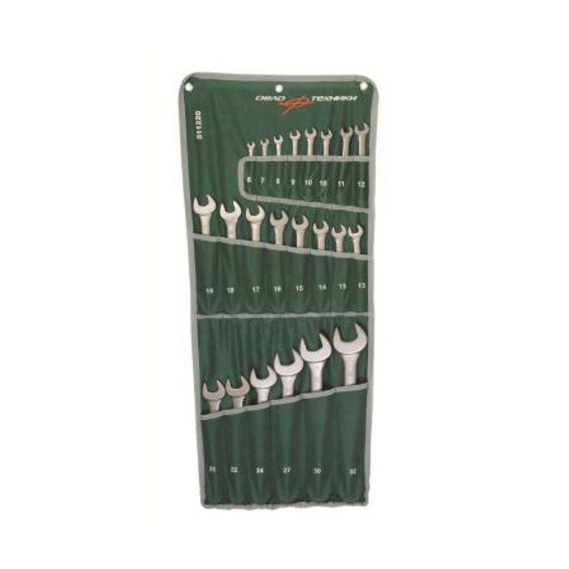 Набор ключей комбинированных 22шт планшет